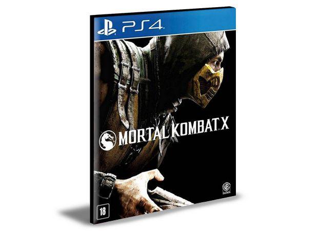 MORTAL KOMBAT X - PS4 PSN MÍDIA DIGITAL