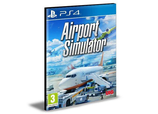 AIRPORT SIMULATOR 2019 - PS4 & PS5 - PSN MÍDIA DIGITAL