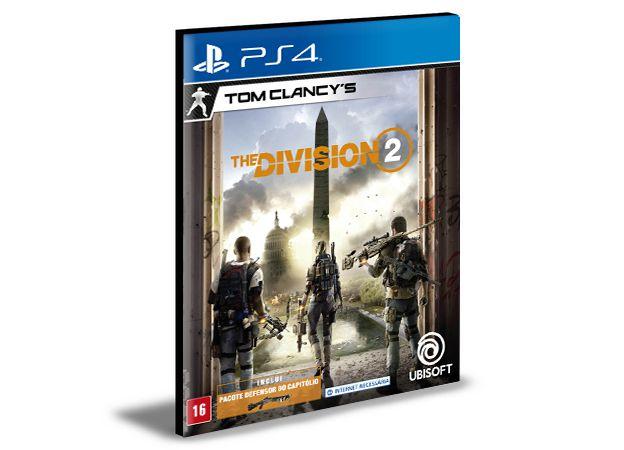 TOM CLANCYS THE DIVISION 2 -Standard Edition  PS4 PSN MÍDIA DIGITAL