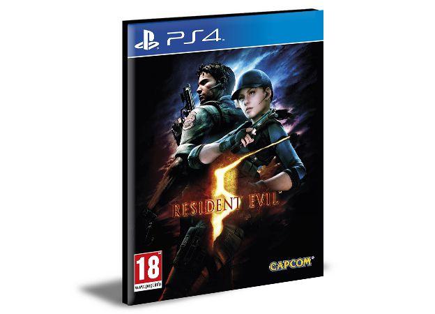 Resident Evil 5 - Ps4 Psn Mídia Digital