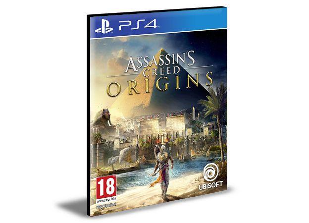 Assassins Creed Origins - PS4 PSN MÍDIA DIGITAL