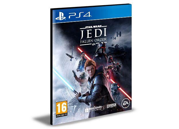 STAR WARS JEDI FALLEN ORDER - PS4 PSN MÍDIA DIGITAL