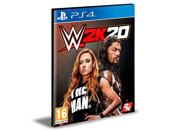 WWE 2K20 - PS4 MÍDIA DIGITAL