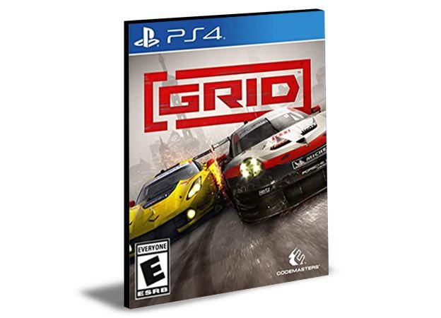 GRID LAUNCH EDITION - PS4 PSN MÍDIA DIGITAL