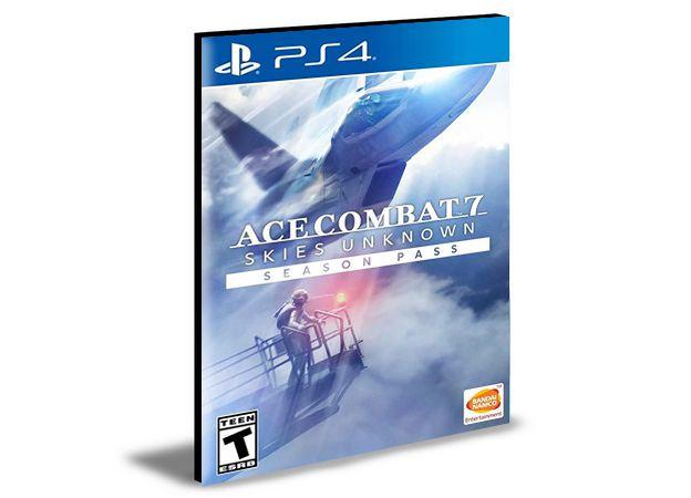 ACE COMBAT 7 SKIES UNKNOWN - PS4 & PS5 - PSN MÍDIA DIGITAL