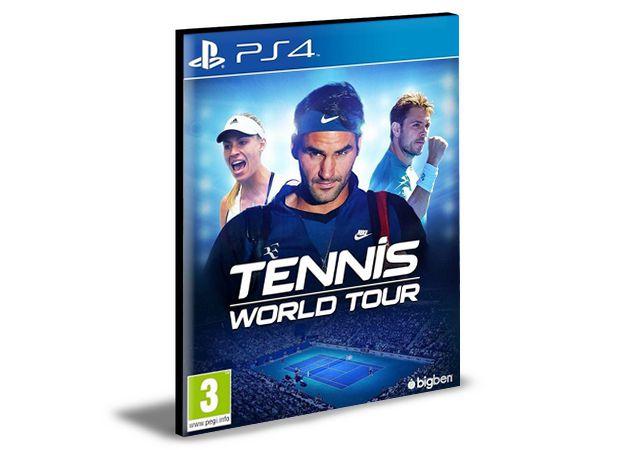 TENNIS WORLD TOUR - PS4 PSN MÍDIA DIGITAL