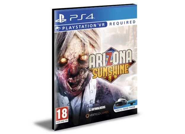 ARIZONA SUNSHINE LAUNCH PS VR  - PS4 & PS5 -  PSN MÍDIA DIGITAL