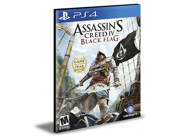 ASSASSINS CREED 4 BLACK FLAG - PS4 PSN MÍDIA DIGITAL