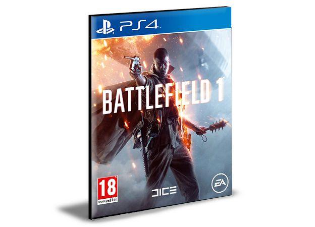 BATTLEFIELD 1 PS4 PSN MÍDIA DIGITAL