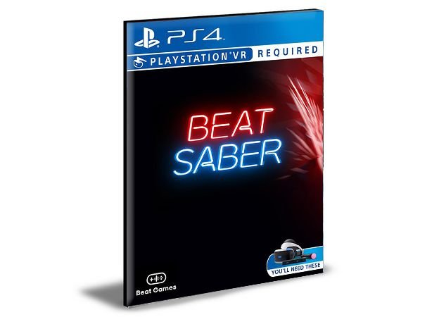 Beat Saber VR Ps4 - Psn - Mídia Digital