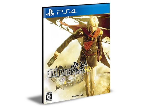 FINAL FANTASY TYPE 0 - PS4 PSN MÍDIA DIGITAL