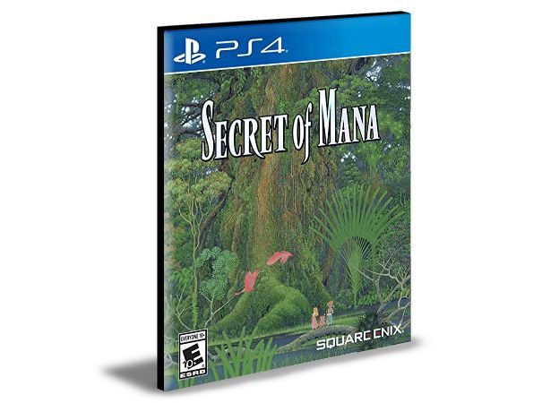 Secret of Mana - Ps4 Psn Mídia Digital