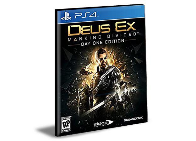 DEUS EX MANKIND DIViDED - PS4 PSN MÍDIA DIGITAL
