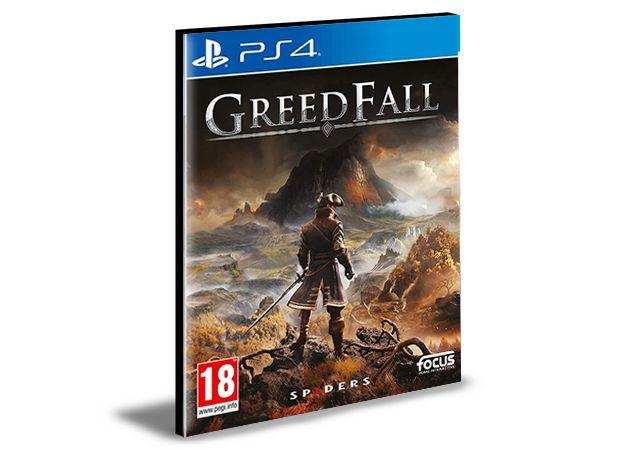 GreedFall - Ps4 Psn Mídia Digital