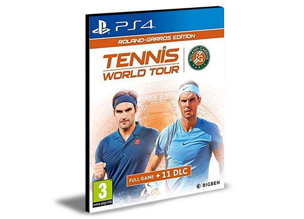 Tennis World Tour Roland-Garros Edition Ps4 - Psn - Mídia Digital