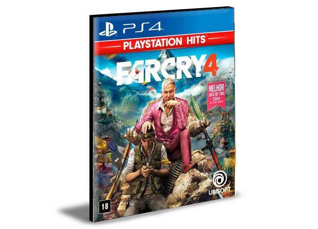 FAR CRY 4 - PS4 PSN MÍDIA DIGITAL