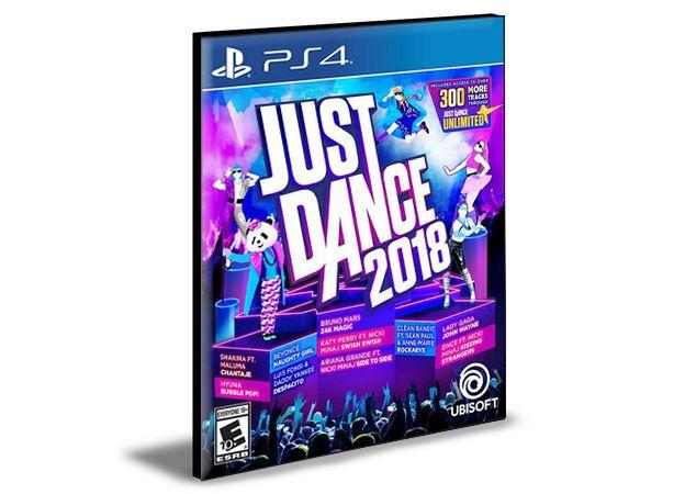 Just dance 2018 Ps4 - Psn  - Mídia Digital