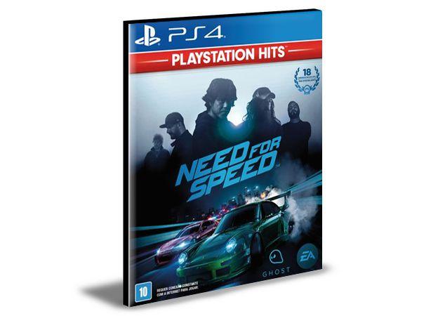 NEED FOR SPEED - PS4 PSN MÍDIA DIGITAL