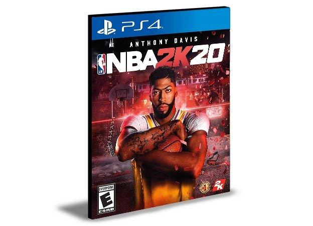 NBA 2K20 - Ps4 Psn Mídia Digital