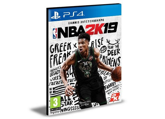 NBA 2K19 - Ps4 Psn Mídia Digital Envio Digital