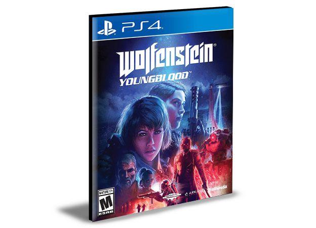 Wolfenstein Youngblood - Ps4 Psn Mídia Digital