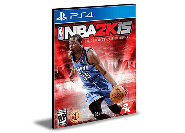 NBA 2K15 - PS4 PSN MÍDIA DIGITAL