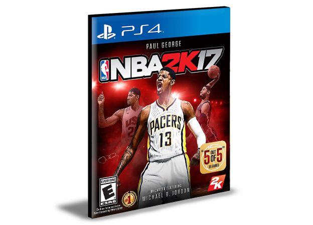 NBA 2K17 - PS4 PSN MÍDIA DIGITAL