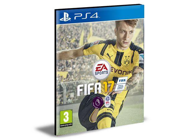 FIFA 17 - PS4 PSN MÍDIA DIGITAL