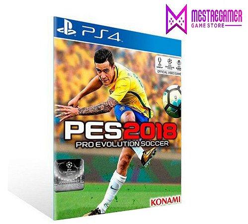 PES 2018 - PS4 PSN MÍDIA DIGITAL