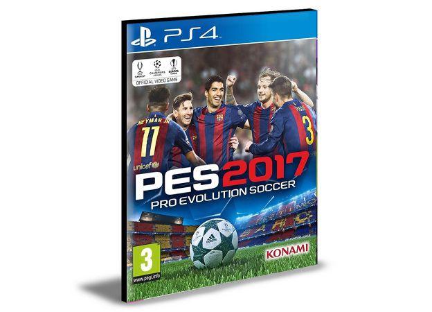 PES 17 - PS4 PSN MÍDIA DIGITAL