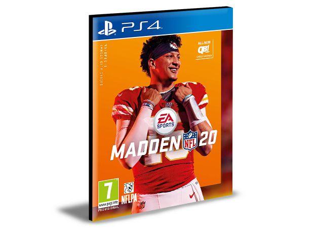 MADDEN NFL 2020 STANDARD EDITION - PS4 PSN MÍDIA DIGITAL