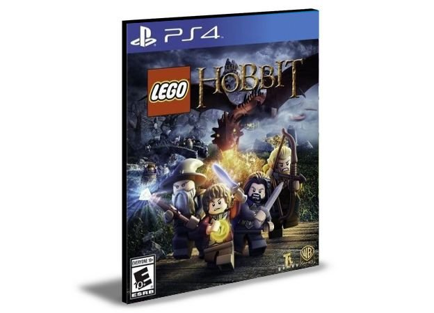 LEGO THE HOBBIT - PS4 PSN MÍDIA DIGITAL