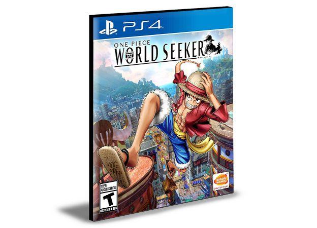 ONE PIECE World  Seekker- PS4 PSN MÍDIA DIGITAL