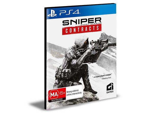 SNIPER GHOST WARRIOR CONTRACTS - PS4 PSN MÍDIA DIGITAL