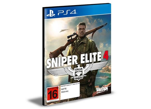 SNIPER ELITE 4 - PS4 PSN MÍDIA DIGITAL