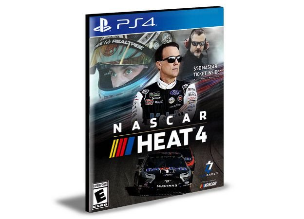 NASCAR HEAT 4 - PS4 PSN MÍDIA DIGITAL
