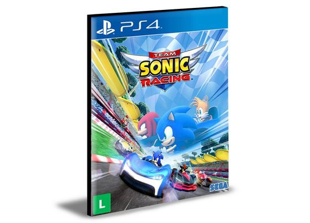 Team Sonic Racing - Ps4 Psn Mídia Digital