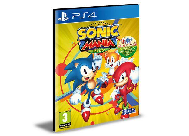 Sonic Mania - PS4 PSN MÍDIA DIGITAL