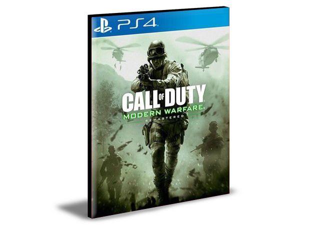 Call Of Duty Modern Warfare Rematered  PS4 - Mídia Digital