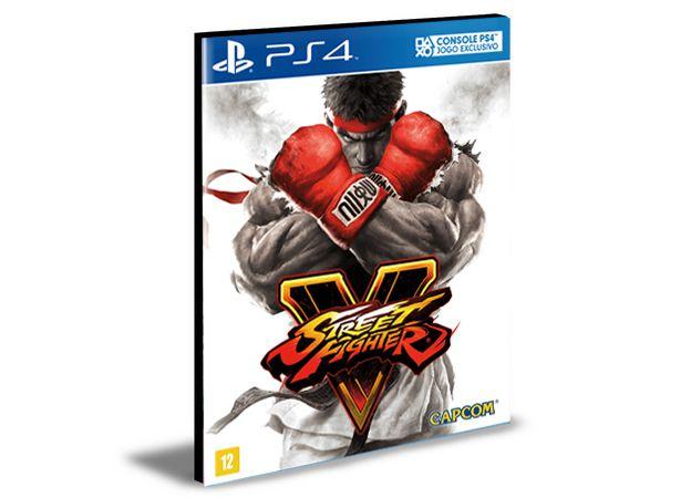 Street Fighter V - Ps4 Psn Mídia Digital
