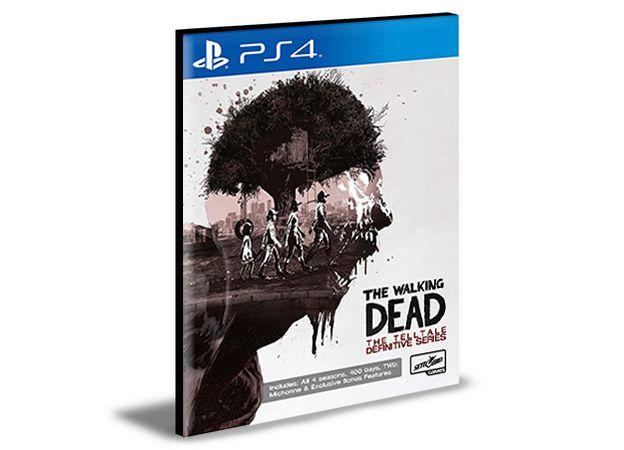 The Walking Dead The Telltale Definitive Series - Ps4 Psn Mídia Digital