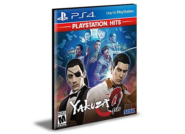 Yakuza 0 PS4 PSN MÍDIA DIGITAL