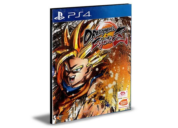 DRAGON BALL FIGHTERZ Ps4 PSN Mídia Digital