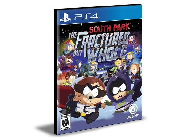 South Park The Fractured But Whole PS4 PSN Mídia Digital