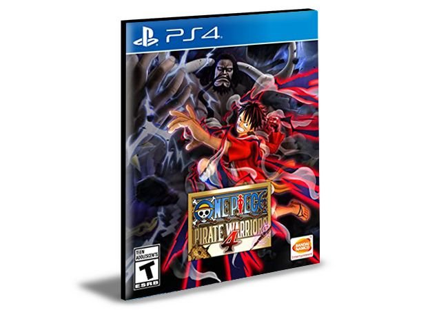 ONE PIECE PIRATE WARRIORS 4 - PS4 PSN MÍDIA DIGITAL