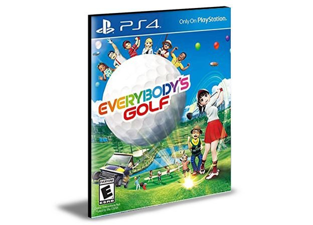 Everybody's Golf PS4 PSN Mídia Digital