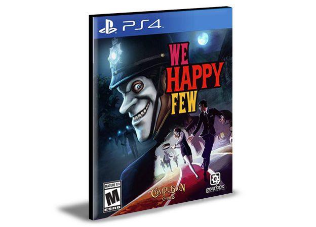 WE HAPPY FEW- PS4 PSN MÍDIA DIGITAL