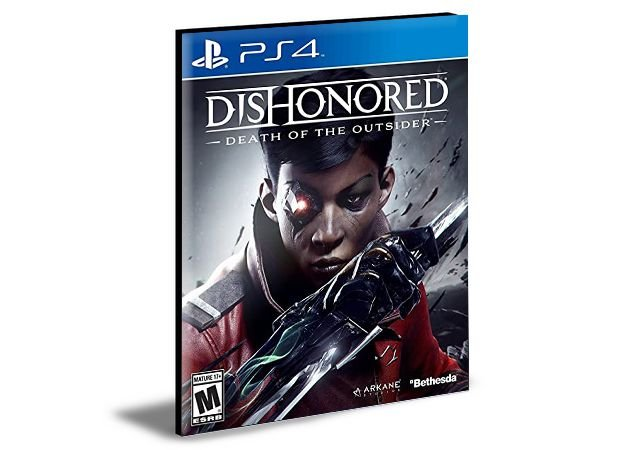 Dishonored Death of the Outsider Ps4 1- Psn - Mídia Digital