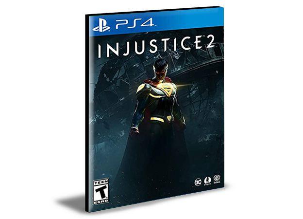 Injustice 2 Mídia Digital PS4 PSN