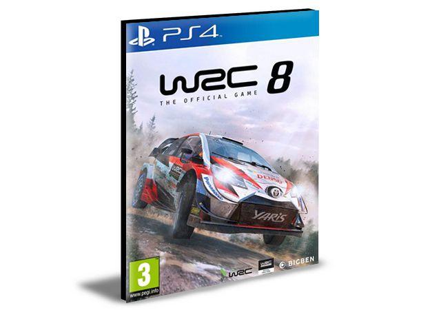 WRC 8 FIA WORLD RALLY CHAMPIONSHIP - PS4 PSN MÍDIA DIGITAL